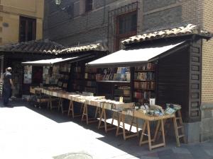 Libreria junto al Callejón de San Ginés