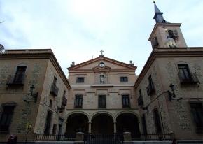 Iglesia de San Ginés en la cual, durante un tiempo hubo expuesto un cocodrilo disecado, Madrid