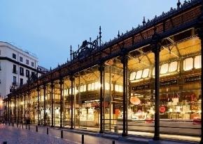 Fachada del Mercado de San Miguel, Madrid