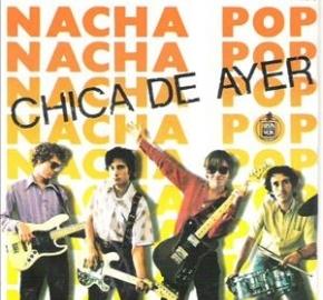 Portada el primer LP de Nacha Pop en el que venía la canción La Chica de Ayer, uno de los himnos del Madrid de 'La Movida'