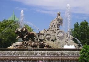 La Fuente de la Cibeles guarda uno de los mayores tesoros de Madrid y de España.