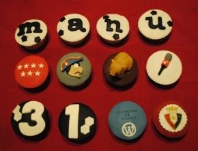 Cupcakes de Casa Golosa, en Madrid