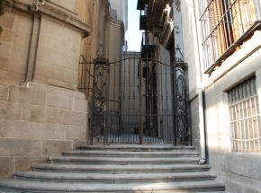 Pasadizo del Panecillo, ubicado en el Madrid de los Austrias