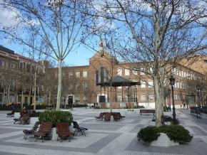 Plaza de Chamberi, corazón del Barrio de Chamberi