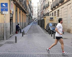 Calle de la Ballesta, en Madrid