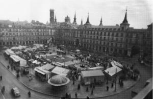 Plaza Mayor en 1956