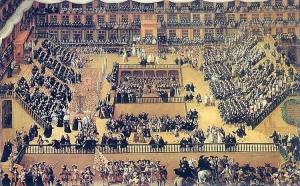 Auto de Fe, en la Plaza Mayor de Marid (1680)