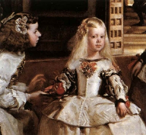 Detalle de Las Meninas de Velázquez