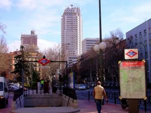 Calle de la Princesa, en Madrid