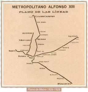 Mapa Metro 1926