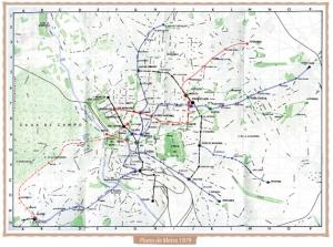 Mapa Metro 1979