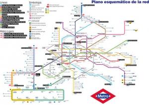 Mapa Metro 2011