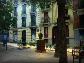 Plaza de los Guardias de Corps, en Madrid