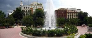 Plaza de Olavide en la actualidad