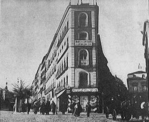 La desaparecida Casa del Ataúd, en Madrid