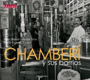 Portada del libro 'Chamberi y sus barrios' de la Editorial Temporae