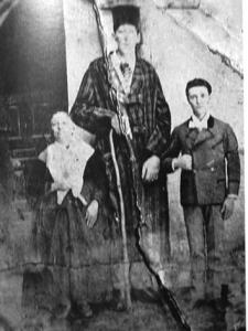 Agustin Luengo, con 2,35 metros de altura fue uno de los españoles más altos de la historia. Su esqueleto se exhibe en el Museo Nacional de Antropología de Madrid.