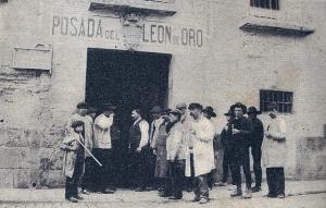 Posada del León de Oro, Madrid, en 1897