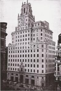 El edificio ya concluido, en 1929. Madrid