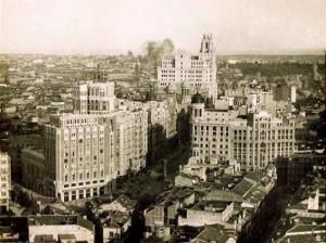 El edificio ya sobresale y manda en el resto de la ciudad de Madrid