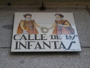 Calle de las Infantas en Madrid