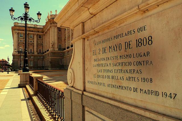 Palacio-Real, 2 de mayo