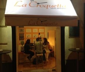 Fachada de La Croquetta en Madrid