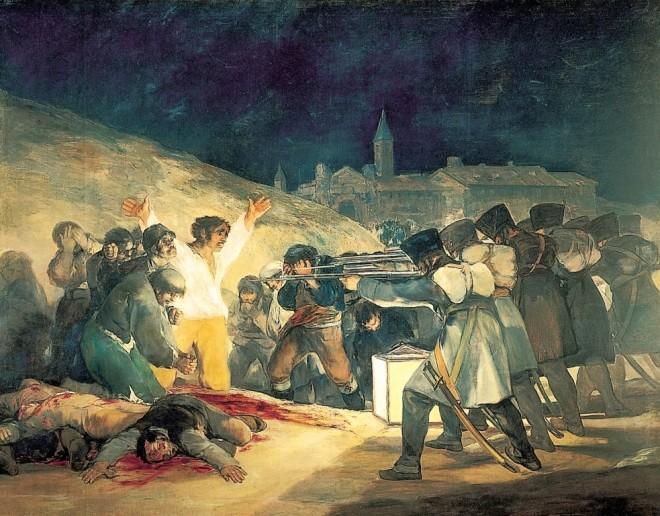 Fusilamiento 3 de Mayo, Goya