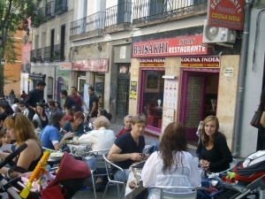 Terraza de Lavapiés en Madrid