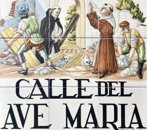 Calle del Ave María, en Lavapiés, Madrid