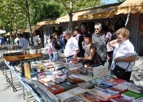 Cuesta de Moyano en Madrid