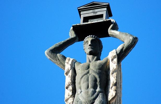 Un romano en la Gran Vía