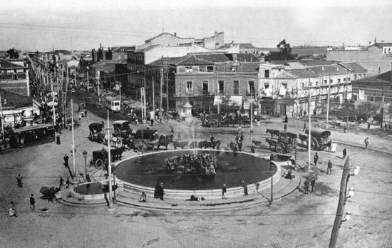 Fotos antiguas glorieta de cuatro caminos for Plaza los cubos madrid