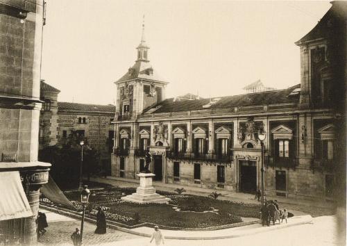 Plaza de la Villa, 1931