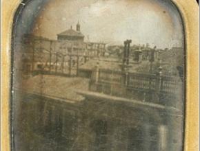 Primera foto de Madrid, de 1840/50