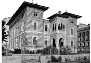 Fachada del Palacio de Xifré  en Madrid