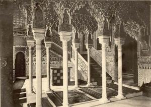 Zaguán del Palacio de Xifré