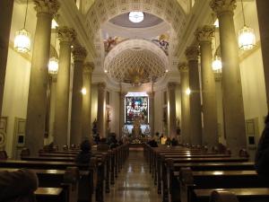 Oratorio del Caballero de Gracia en Madrid