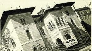 Palacio de Xifré antes de ser derribado