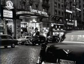 La Gran Vía en 1950, Madrid