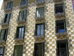Edificio inspirado en la obra de Escher, en Calle Conde Romanones 14, Madrid