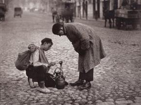 Mielero de la Alcarria en Madrid, 1925