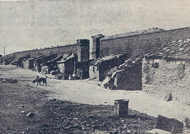 Cementerio del Norte, en la Calle Magallanes, en 1914. Madrid