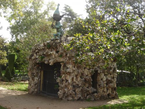 Duende del Parque del Retiro, en Madrid