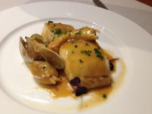 Comida en el restaurante Asgaya de Madrid