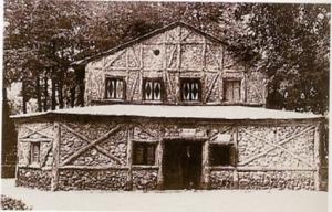 Casa del Pobre y del Rico, desaparecida vivienda que estuvo en el Parque del Retiro, en Madrid