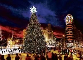 feliz navidad Madrid