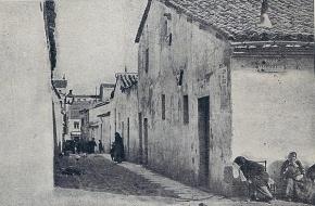 El Callejón del Alamillo, hoy Calle Cercedilla, comunicaba la Calle de Magallanes con Bravo Murillo. Chamberí, Madrid.