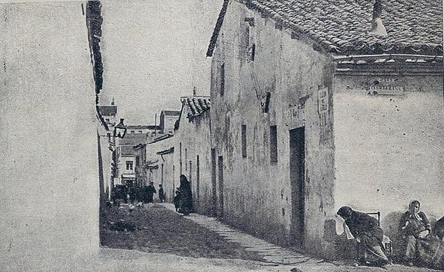 Así se dejaba ver el Barrio de Arapiles, en el Distrito de Chamberí, a comienzos del siglo pasado.