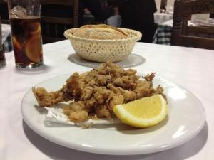 """La media ración de chopitos que me comí en """"la Bulería"""", Madrid"""